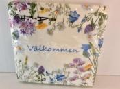 Valkommen Flower Napkins