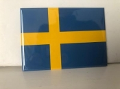 Swedish Flag, Magnet