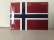 Norwegian Flag, Magnet