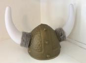 Plastic Viking Helmet With Horns