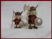 Set of Wooden Vikings